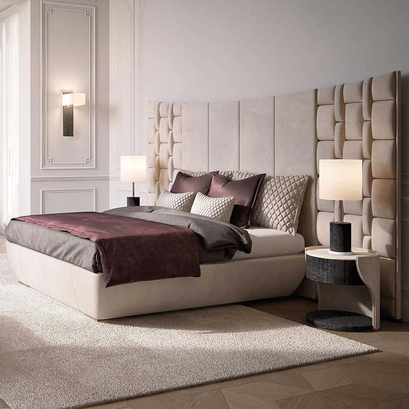 Hotel Projet Mattress Luxury, Queen Upholstered Platform Bed Frame With Legs Jubilee Mattress